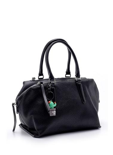 Derimod Kadın Çanta (H8978-1) Casual Siyah